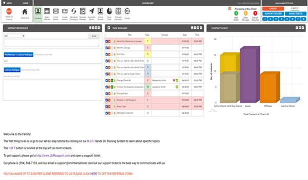 Credit Repair Software Main Screen Small